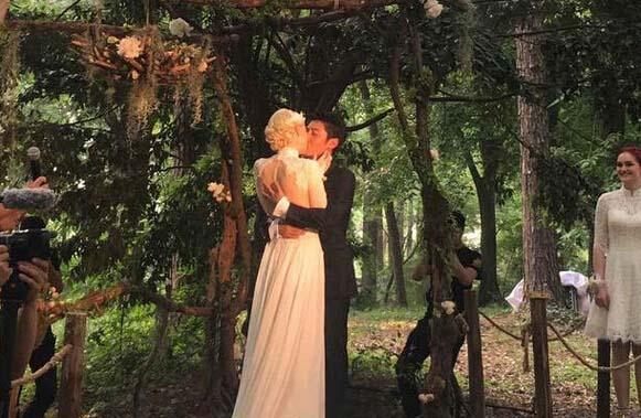 撒贝宁的森系婚礼,你惊艳到了吗?