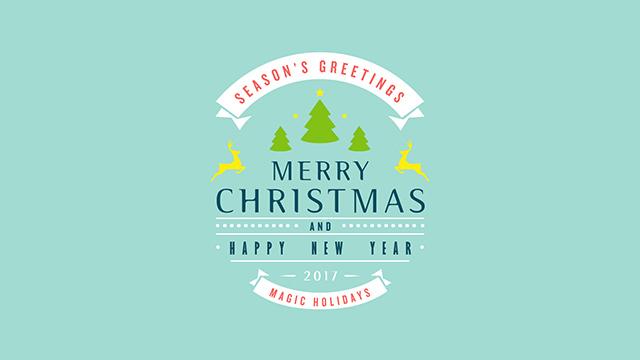 圣诞节最佳礼物!快使用新模板制作圣诞节祝福视频
